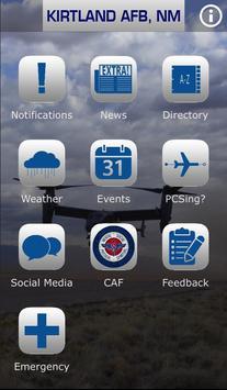 Kirtland Air Force Base poster