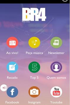 Rádio BR4 poster
