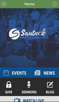Santuck Baptist Church poster