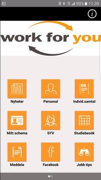 Workforyou poster