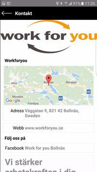 Workforyou screenshot 3