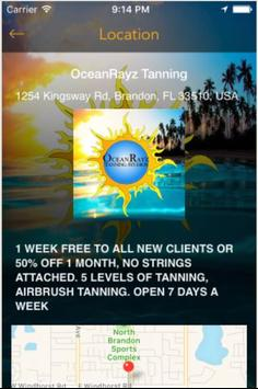 OceanRayz Tanning screenshot 3