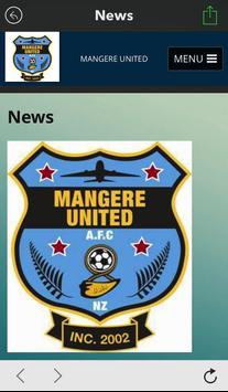 Mangere United apk screenshot