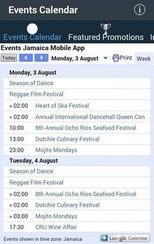 Events Jamaica screenshot 2
