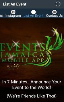 Events Jamaica screenshot 3