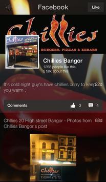 Chillies Bangor apk screenshot