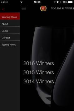 Top 100 SA Wines 2016 poster