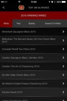 Top 100 SA Wines 2016 apk screenshot