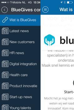 BlueGives apk screenshot