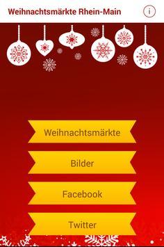 Weihnachtsmärkte Rhein-Main poster