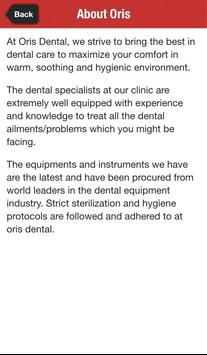 Oris Dental apk screenshot