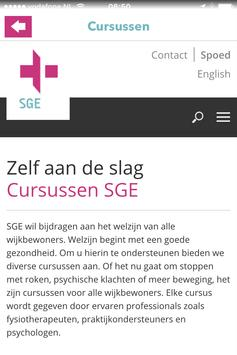 SGE Zorg apk screenshot