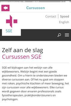 SGE Zorg screenshot 2
