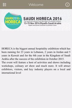 Saudi Horeca poster
