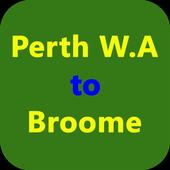 Perth WA-Broome icon