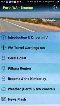Perth WA-Broome poster