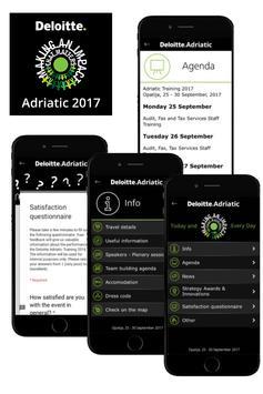 Deloitte Adriatic 2017 poster