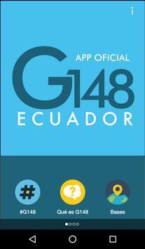 G148 Ecuador poster