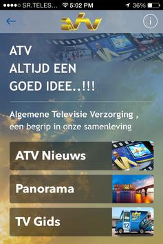 ATV Suriname PLUS poster