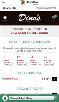 Dino's Pizza Burbank apk screenshot
