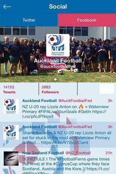 Auckland Football Federation apk screenshot