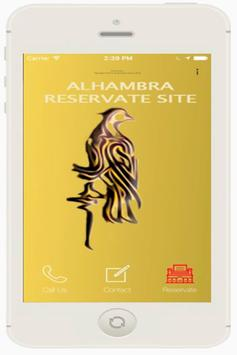 Alhambra Reservate Site poster