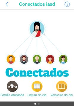 Conectados com Deus poster
