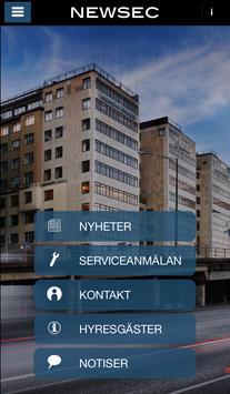 Newsec Katarinahuset poster