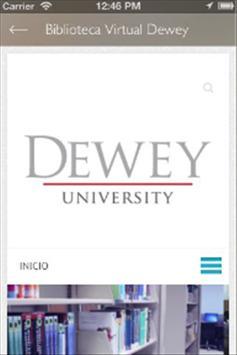 Dewey University Library apk screenshot