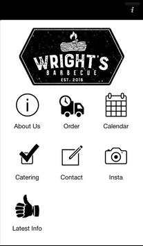 Wright's Barbecue poster