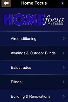 Home Focus Magazine poster