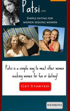Patsi - Lesbian Social Network poster