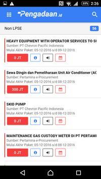 Info Lelang apk screenshot