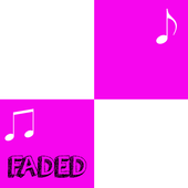 Alan Walker - Faded - Piano Tiles icon