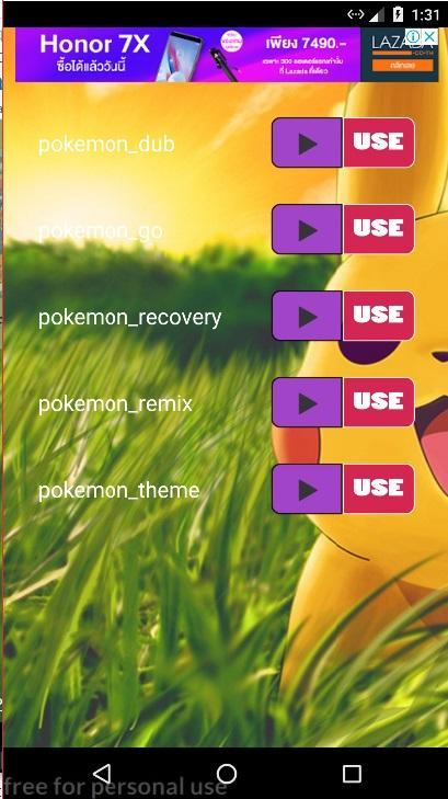 Pokemon Ringtones for Android - APK Download