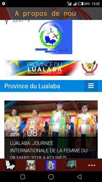 Province du Lualaba poster