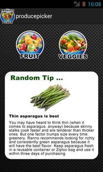 Grocery Helper Fruit Vegtables poster