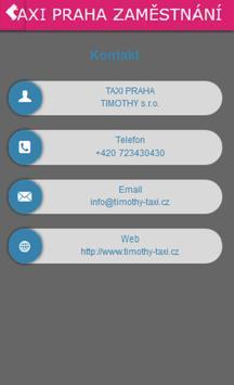 TAXI PRAHA NÁBOR ŘIDIČŮ apk screenshot
