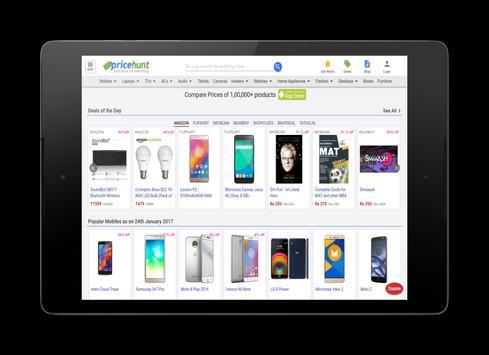PriceHunt : Best Price Comparison for India apk screenshot
