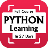 Learn Python in 27 days only icon