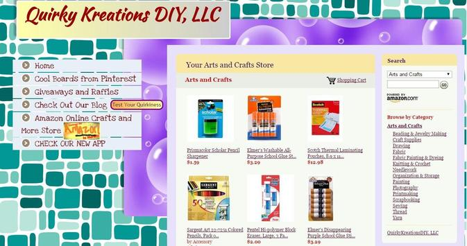 Quirky Kreations DIY apk screenshot