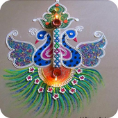 Rangoli Designs Videos App icon