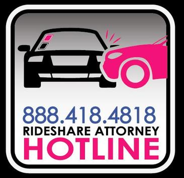 Rideshare Attorney Hotline poster