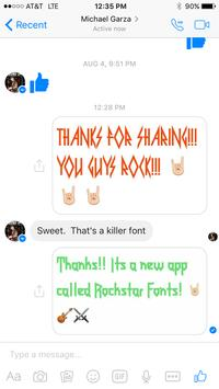 Rockstar Fonts! screenshot 5