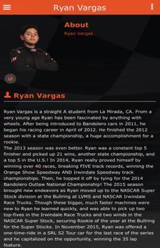 Ryan Vargus Racing poster