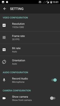 Screen Video Recorder And Editor apk screenshot