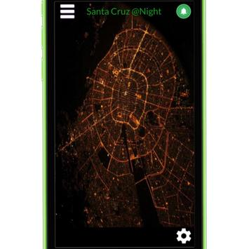 Santa Cruz At Night poster