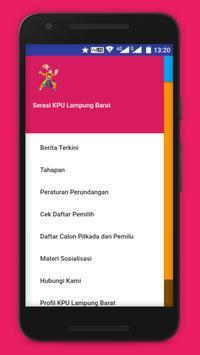 Serasi KPU Lampung Barat apk screenshot