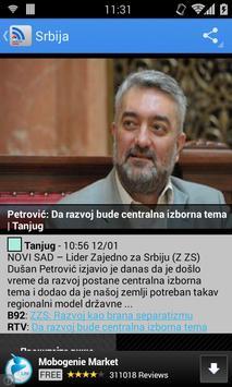 Serbian News screenshot 2