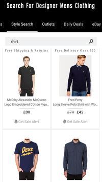 Mens Clothes Shopping +Fashion screenshot 19